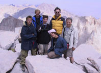 Highlight for Album: Sierra Trip 2001 - Mt. Whitney