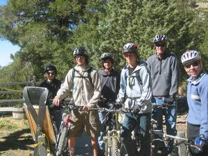 Highlight for Album: Bike Mt. Baldy October 2006