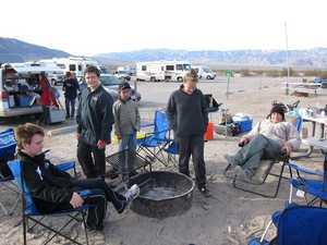 Saturday morning at Death Valley