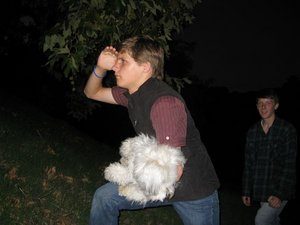 Tanc and dog