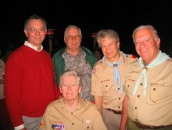 Troop 85 leaders