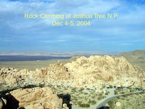 Highlight for Album: Joshua Tree December 2004 - Reiner's Shots