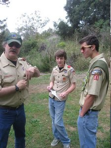 Asst Scoutmaster Neil, Scout Neil, Eagle Malcolm