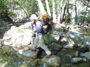 Manzana 2004 - stream crossing again