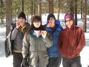 Highlight for Album: More Snow on Mt. Pinos