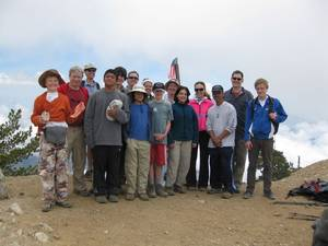 Highlight for Album: Mt Baden Powell Qualifier