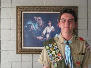 Dan Rasch, Eagle Candidate