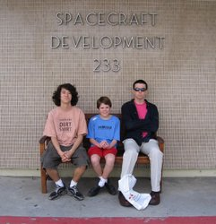 Boys in Spacecraft Development