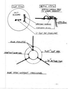 T85 Rocket Plans- end view