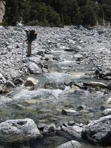 Lots of water in Vivian Creek
