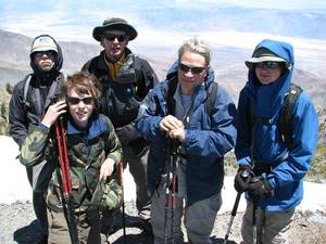 Highlight for Album: Telescope Peak - May 2006