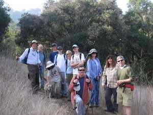 Webelos hike crew on the ridge