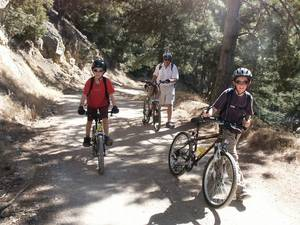 Highlight for Album: Santa Ynez Area Mountain Bike Ride - October 2003