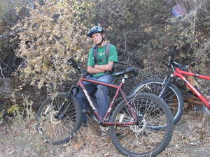 Highlight for Album: Santa Ynez Area Mountain Bike Ride - October 2004