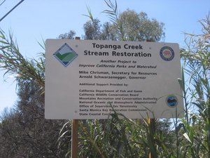 Topanga Creek Stream Restoration